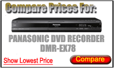 Compare Prices for Panasonic Dvd Recorder DMR-EX78