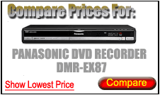 Compare Prices for Panasonic Dvd Recorder DMR-EX87