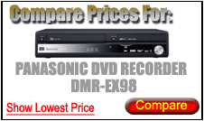 Compare Prices for Panasonic Dvd Recorder DMR-EX98