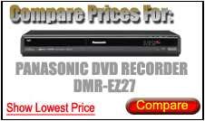 Compare Prices for Panasonic Dvd Recorder DMR-EZ27
