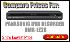 Compare Prices for Panasonic Dvd Recorder DMR-EZ28