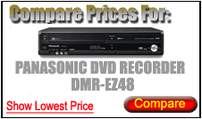 Compare Prices for Panasonic Dvd Recorder DMR-EZ48